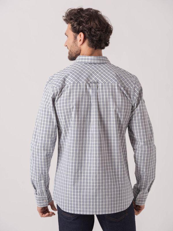 Secondo Long Sleeve Check Shirt
