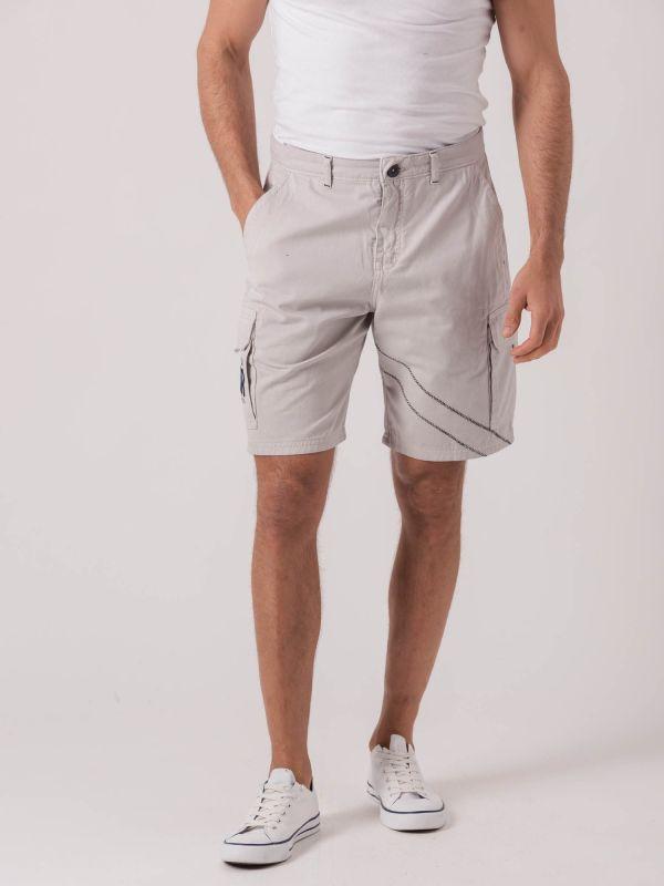 Sicily X-Series GREY Cargo Shorts   Quba & Co
