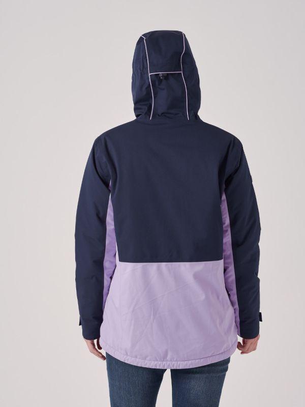 Cyrile NAVY LILAC X-Series Waterproof Jacket   Quba & Co