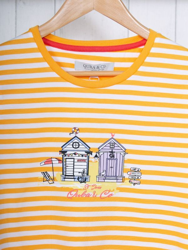 Stella ORANGE St Ives T-Shirt | Quba & Co