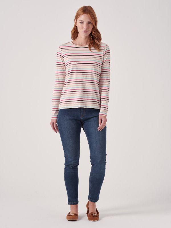 Suzette PINK Long Sleeve T-Shirt | Quba & Co