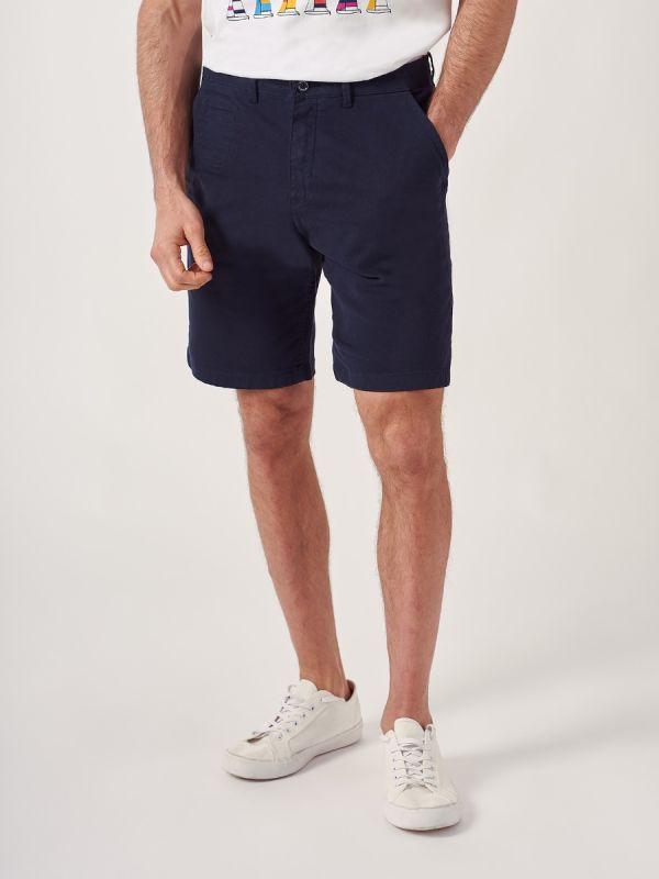 Swan NAVY Chino Shorts | Quba & Co
