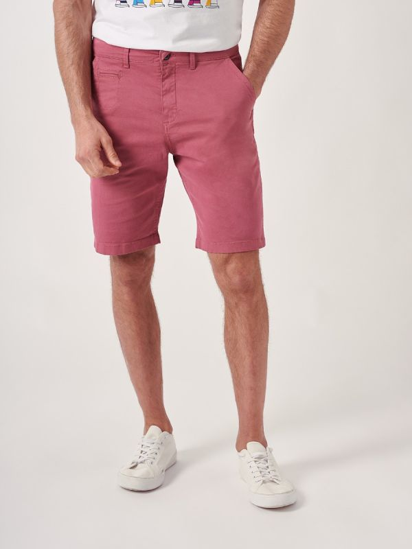 Swan ROSE PINK Chino Shorts | Quba & Co
