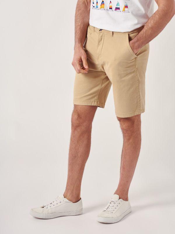 Swan AZURE BLUE Chino Shorts   Quba & Co
