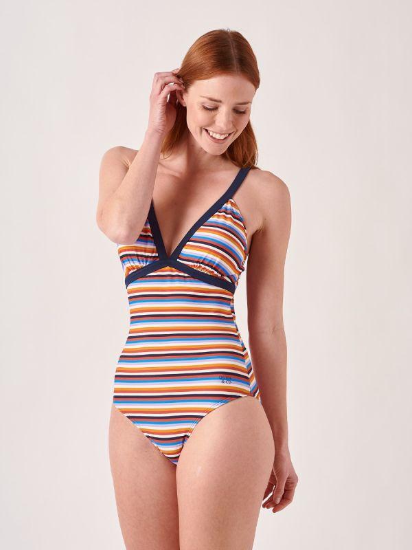 Talia MULTI Swimsuit | Quba & Co