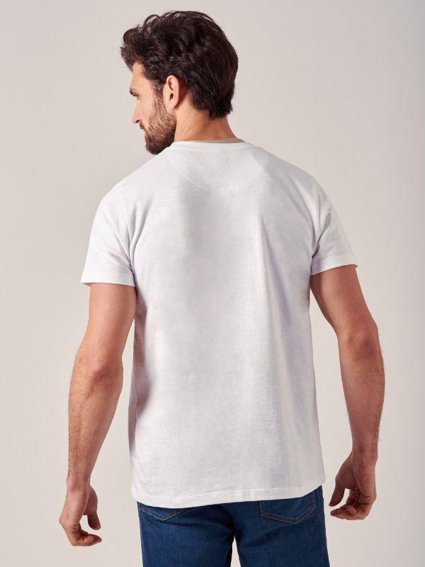 Taos WHITE Logo T-Shirt | Quba & Co