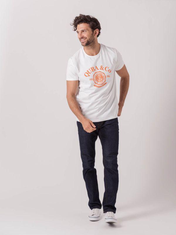 Tenno WHITE Graphic T-Shirt | Quba & Co