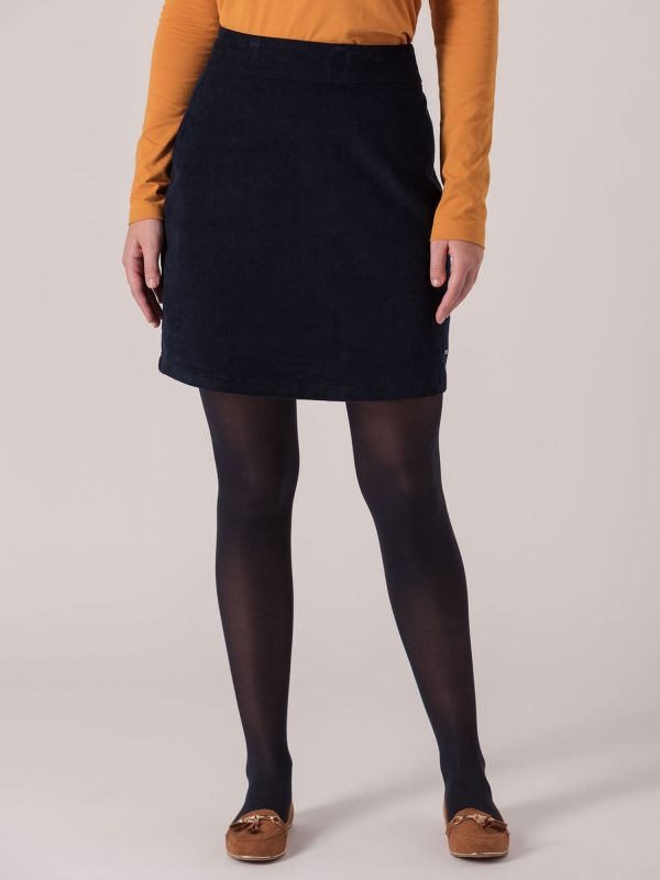 Terese Cord Skirt - Navy   Quba & Co Dresses and Skirtsa