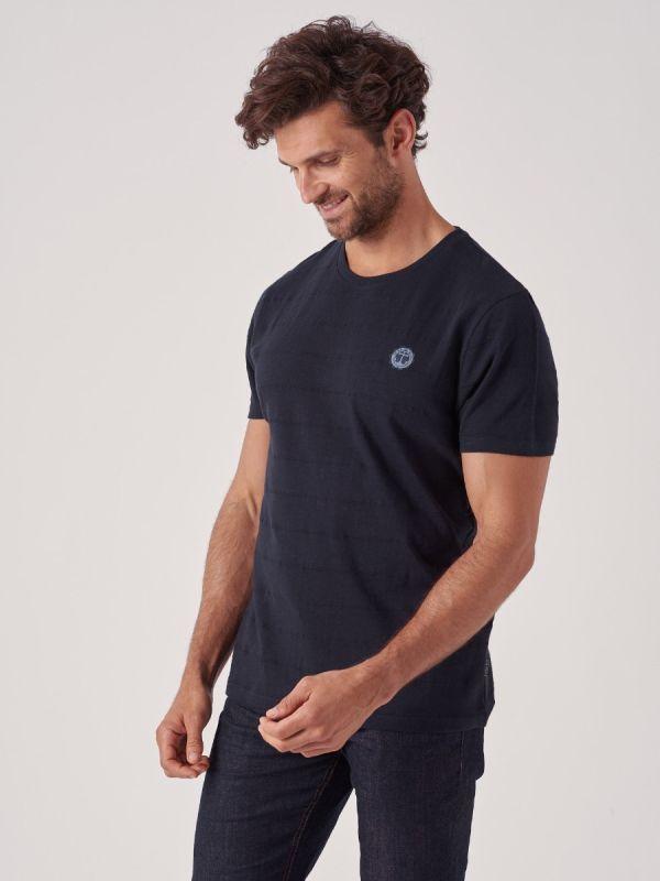 Thunder NAVY Stripe T-Shirt   Quba & Co
