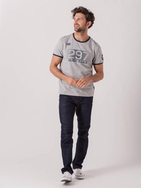 Toldo X-Series GREY Graphic T-Shirt   Quba & Co