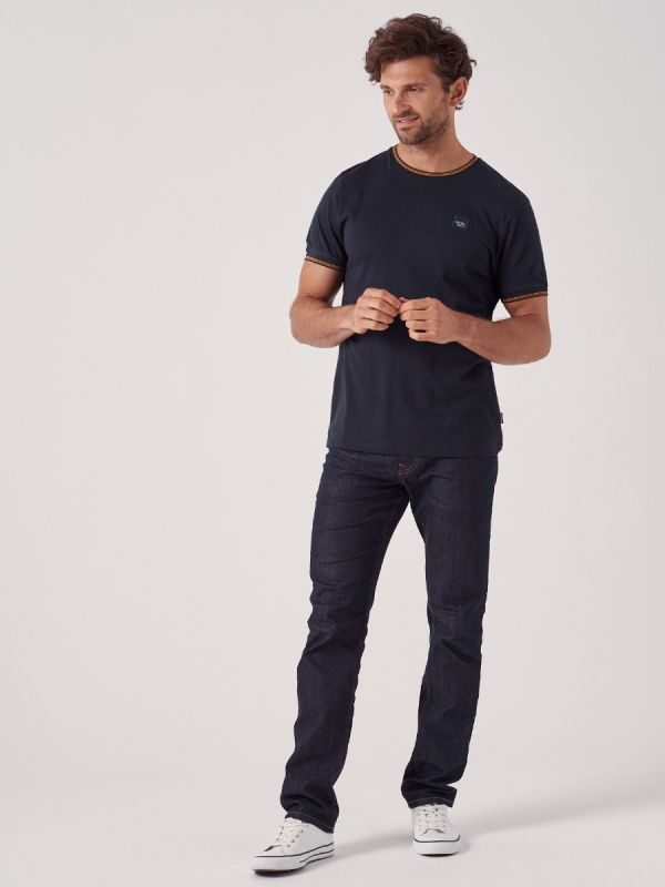 Toronto NAVY Crew Neck T-Shirt | Quba & Co