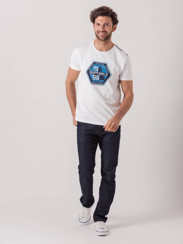 Tosco X-Series WHITE Graphic T-Shirt   Quba & Co