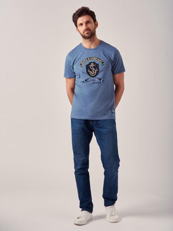 Traders BLUE T-Shirt | Quba & Co