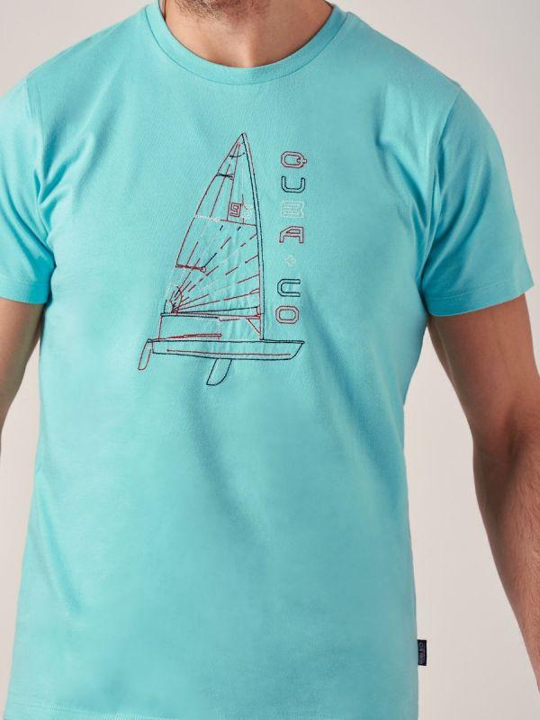 Trafalgar BLUE Graphic T-Shirt   Quba & Co