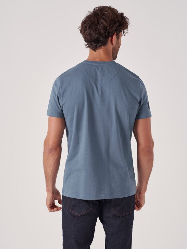 Trail BLUE Logo T-Shirt | Quba & Co