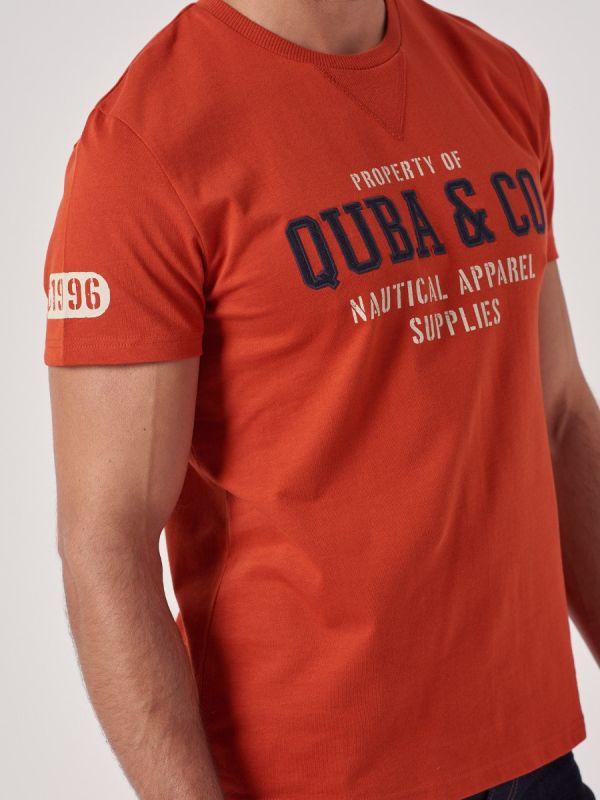 Trail RUSTIC Logo T-Shirt   Quba & Co