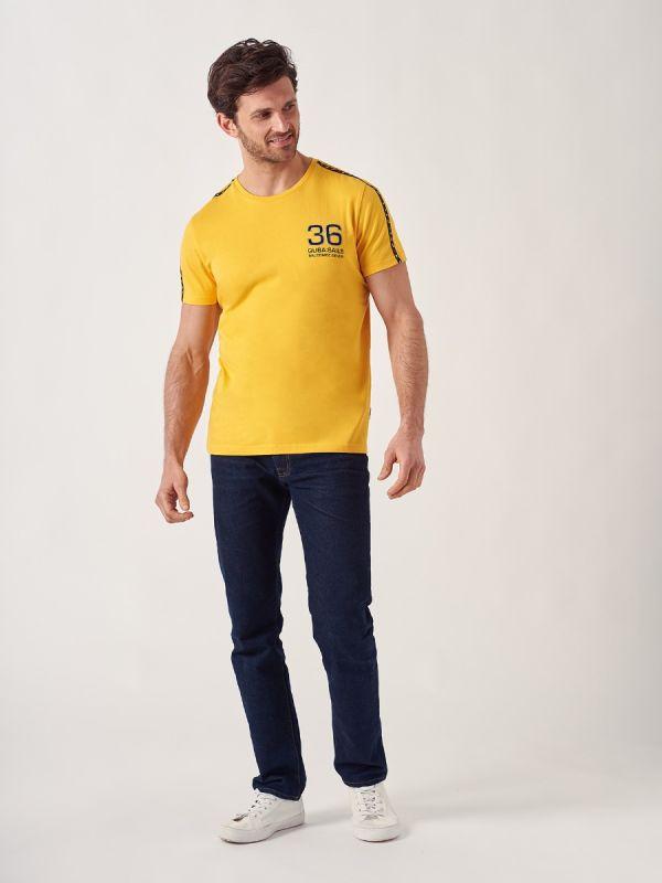 Tuckerman YELLOW X-Series T-Shirt | Quba & Co