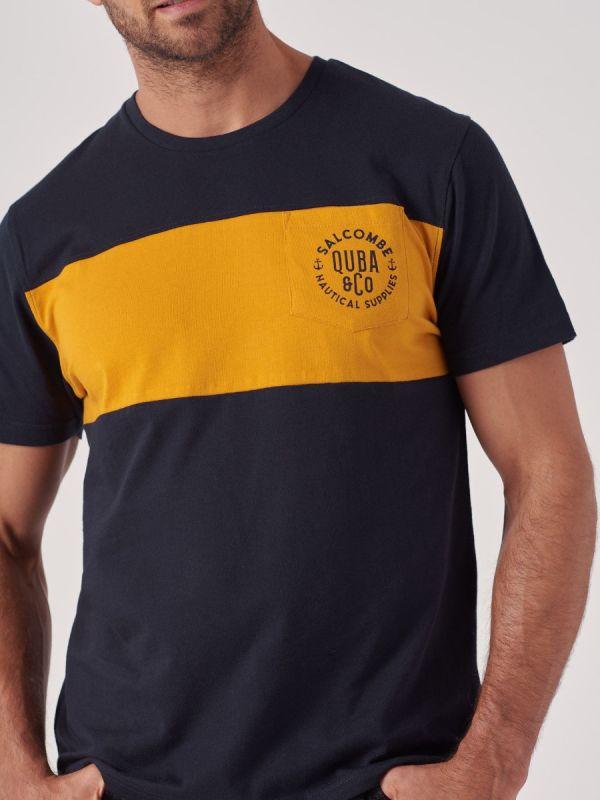 Tunnel NAVY Crew Neck T-Shirt   Quba & Co