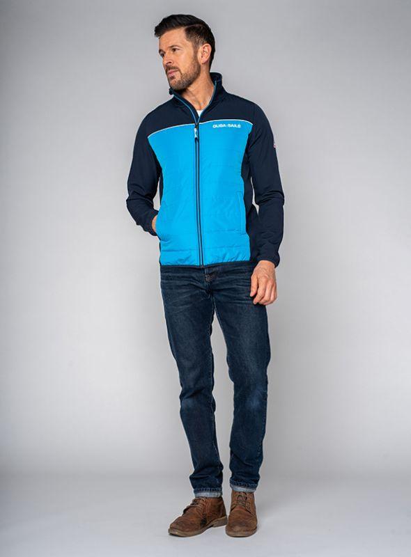 Malabo Jacket - Atlantis Blue   Quba & Co Outerwear