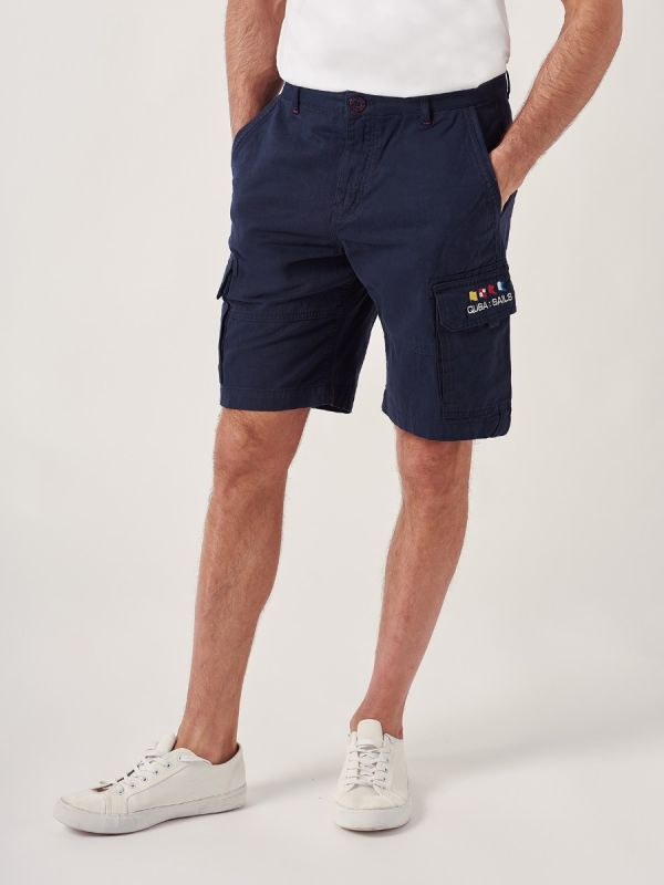 Warner NAVY X-Series Cargo Shorts | Quba & Co