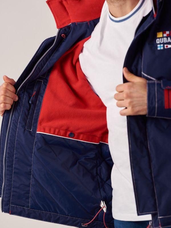 Mens NAVY New X10 Heritage Waterproof Jacket   Quba & Co