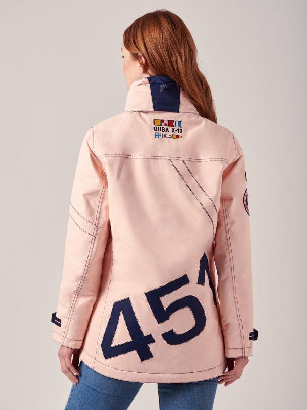 Ladies PINK New X10 Heritage Waterproof Jacket   Quba & Co