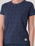 Adele DARK TEAL Printed T-Shirt   Quba & Co