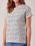 Bebe NAVY Sea Print T-Shirt   Quba & Co