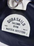 Billy NAVY Medium Barrel Bag   Quba & Co