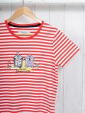 Stella RED Padstow T-Shirt | Quba & Co