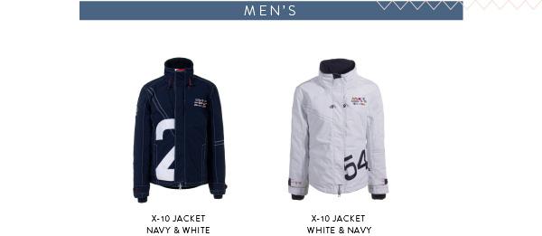 x-10 men's jacket